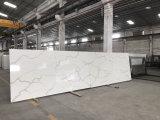 Белый Calacatta разработаны кварцевого камня слоев REST с заводская цена