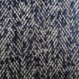 Ткань пальто одежды из твида Boucle, ткань Boucle шерстей