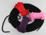 Jogo erótico do Roleplay da manutenção programada por muito tempo 5m da corda do sexo do algodão dos pacotes dos 10m das cordas adultas do laço do Weave dos produtos do jogo do sexo da sujeição