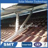 Parentesi personalizzata del comitato solare di PV dell'alluminio per il tetto
