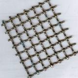 Квадратное отверстие из нержавеющей стали Обжатый провод сетка