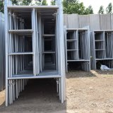 Angestrichener Aufbau-traditioneller Rahmen-Baugerüst-China-Preis