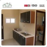 판매를 위한 작은 모듈 단 하나 침실 빛 강철 구조물 섬유 시멘트 널 조립식 살아있는 집