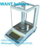 100g 1mg 0,001 g Miligram haute Balance de précision de laboratoire avec pare-brise en verre