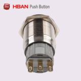 Nuevo tipo (19mm) de cierre momentáneo con interruptor pulsador de símbolo llamada