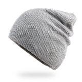 Form-graue/schwarze Winter-Hut-Frauenbeanie-Schutzkappe