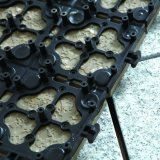 خارجيّة أثر قديم دار [هلّ] أرضيّة بالجملة يشتبك ظهر مركب طقطقة قراميد حجارة أساليب حصير تصميم