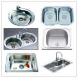 En vertu de monter dans le matériel d'évier de cuisine en acier inoxydable 304-8048 SD