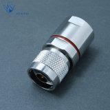 Connecteur coaxial mâle de la bride rf N pour le câble LMR600