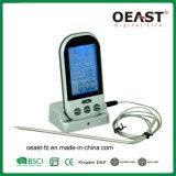 Аттестованный Ce термометр мяса BBQ цифров с отметчиком времени Ot5558