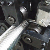 Acero inoxidable Stripwound Manguera de metal que hace la máquina