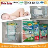 Preço sonolento descartável por atacado respirável macio do tecido do bebê em fabricantes das balas em China