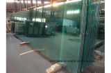 Tamaño grande de vidrio laminado templado Semi edificio alto
