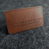 Заплаты низкой цены напечатанные оптовой продажей кожаный для джинсыов
