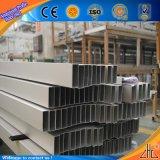 Tuyauterie carrée en aluminium