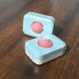 Tablettes détergentes de vaisselle de parfum de citron, tablettes automatiques de détergent de lave-vaisselle