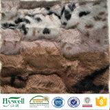 毛布のための動物デザインの印刷されたPVのプラシ天ファブリック