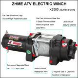 treuil électrique de corde en acier de 12V 3500lbs pour ATV/UTV avec à télécommande