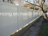 Cerca norteamericana del estilo, cerca de la aislamiento, el panel de la cerca, cerca del PVC, vinilo que cerca, cerca plástica reciclada ambiental