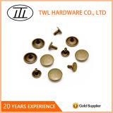 형식 의복을%s 8mm 버섯 부속품 철 리베트 또는 부대 또는 단화
