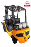Benzina di XCMG e carrello elevatore a forcale di tonnellata del carrello elevatore 1-5 di GPL con il motore dei Nissan da vendere
