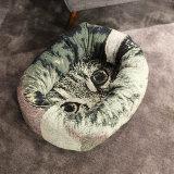 Form-Luxuxgewebe-Haustier-Sofa-Hundebett-Haustier-Produkt-Katze-Bettwäsche-Bett