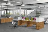 4개의 시트 (BL-240)를 위한 새로운 디자인 L 모양 사무실 워크 스테이션