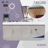 Linha de produção de madeira da máquina da extrusão da placa da porta da espuma plástica do PVC