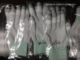 Gants enduits d'unité centrale de gants en nylon de Cleanroom