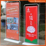 banco di mostra di pubblicità esterna del basamento della bandiera di figura del portello di 80*180cm