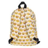 Lustiger netter QQ Emoji Rucksack des Desin Schule-Beutel-für Kursteilnehmer-Teenager
