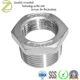 Instalación de tuberías de aluminio del buje del reductor de la cuerda de rosca femenina