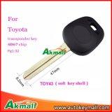 Компания Toyota приемного автомобиля с помощью 4D67 чип мягких пластмассовых игрушек43