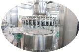 Terminar la cadena de producción de empaquetado embotelladoa de 8000bph 12000bph 15000bph 20000bph del animal doméstico de la botella del jugo del té de la bebida del relleno en caliente automático de llavero de Filller