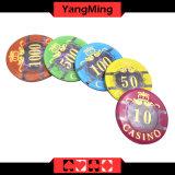 microplaquetas plásticas do póquer 760PCS ajustadas (YM-FOCP003)