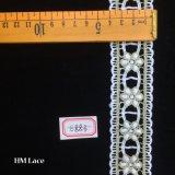 шнурок утески сари 4cm, индийское уравновешивание вышивки, шнурок Hme883 уравновешивания граници Saree