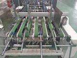 Carpeta automática Gluer cuatro y máquina de la esquina de la parte inferior del bloqueo seises