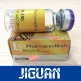 Étiquette pharmaceutique imperméable à l'eau personnalisée de fiole d'hologramme des meilleurs prix de modèle