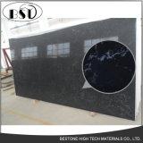 Камень кварца туманного черного кремнезема искусственний