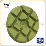 """4""""/100mm Metal Resina Bond Diamond Almofada de polir as Ferramentas de moagem de piso de roda de renovação para betão"""