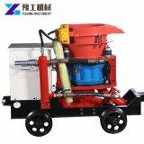 Las series de Pz de la maquinaria de construcción secan la máquina del Gunite de la máquina 5m3 del hormigón proyectado