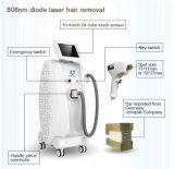 a dor de Epilation do cabelo do equipamento do salão de beleza da beleza do laser do diodo 808nm livra