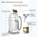 cabelo livre Epilation do equipamento do salão de beleza da beleza da dor do laser do diodo 808nm