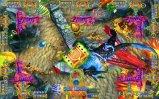 Máquina de juego de juego de arcada del cazador de fichas de los pescados para la venta