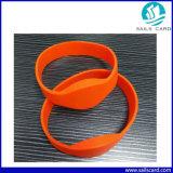 13.56MHz Bracelet Bracelet RFID avec le Code QR de l'impression/de code à barres