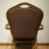 مطعم أثاث لازم ألومنيوم كدّس مأدبة كرسي تثبيت مع [أرمس]