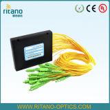 FTTHの解決FC/Sc/St/LCのコネクターのための1X32光ファイバPLCのディバイダー