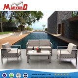 Qualitäts-Aluminiumim freienpatio-Sofa-Möbel-Sofa-Set