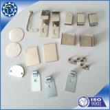 Aluminium anodisé fait sur commande estampant des pièces pour l'usage d'appareillage électrique
