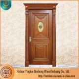Deshengのパキスタンの木の鋼鉄二重パネル・ドアデザイン